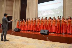 临沂市国土资源局合唱团合唱《绿色的梦想》