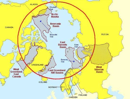 俄罗斯在北极发现超级油田 - 王思德 - 境外资源文摘
