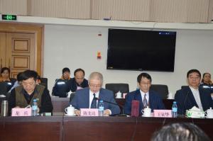 中国矿联专职副会长兼秘书长陈先达宣读朱训贺信