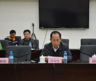 广西自治区国土资源厅副厅长田凤鸣发言