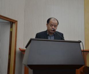 广西分公司平果铝矿业工作者代表发言