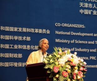 世界银行集团全球能源和采掘业行动高级总监安妮塔•乔治