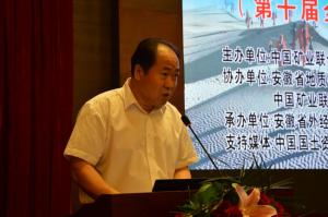 中国地质调查局党组副书记、副局长,中国矿业联合会地质勘查协会会长王研主持开幕式