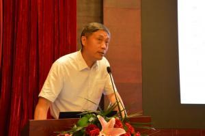 国土资源部总工程师、中国矿业联合会党委书记彭齐鸣出席会议