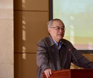 国土资源部原副部长、中国矿业联合会高级资政委副主任蒋承菘讲话