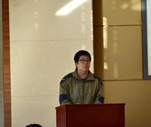地勘行业代表金罗盘获得者郭高轩发言