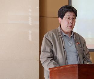 行业管理部门代表国土资源部地质勘查司副司长王军发言
