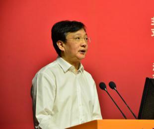 中国冶金地质总局局长、党委书记卢进代表承办单位致辞