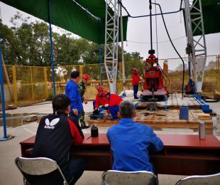 青海省:第二届全国钻探技能大赛选拔赛赛况汇报